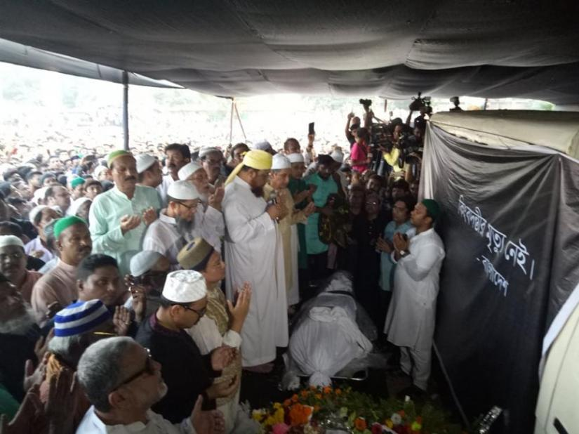 Music maestro Ayub Bachchu laid to rest in Ctg