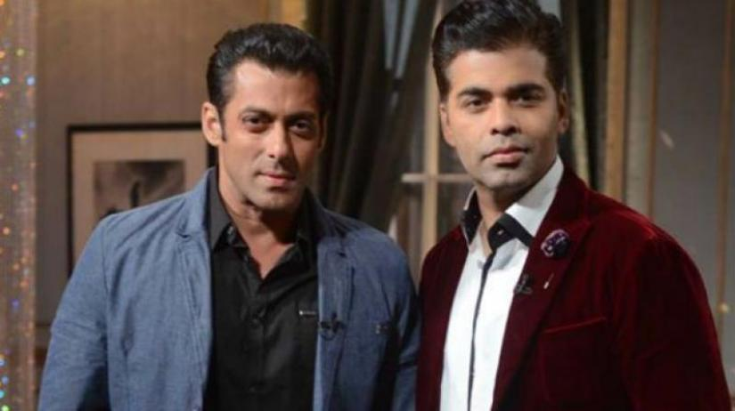 Someday, work with me again: Salman Khan tells Karan Johar