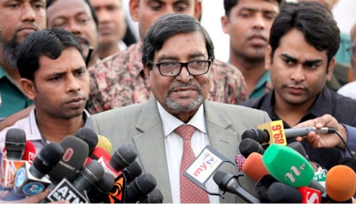 EC Mahbub Talukdar puzzled in his own voting center